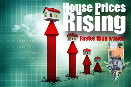 House Prices Rising Faster Than Wages